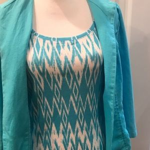 Chico's Tank and Cardigan 2 Pcs Tops